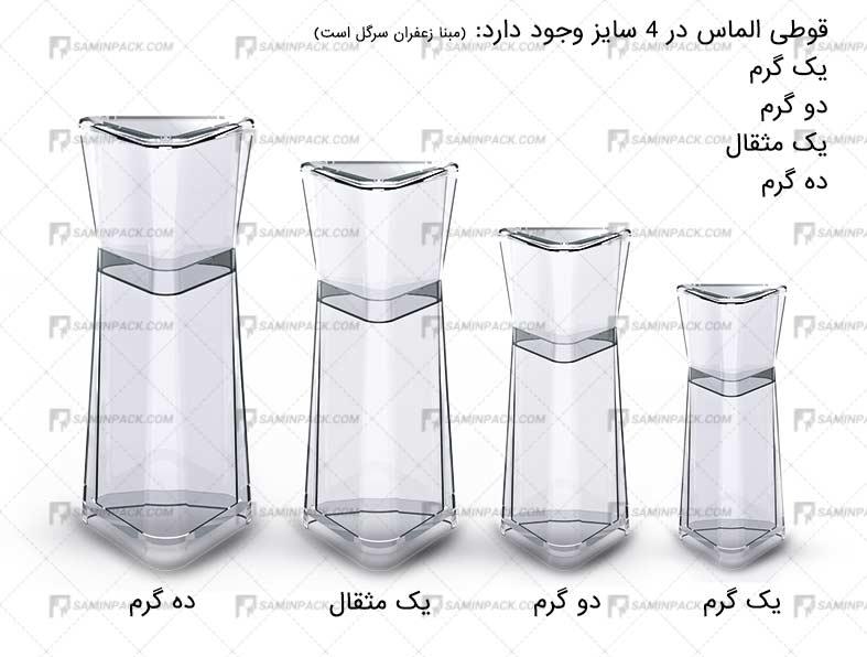 قیمت قوطی زعفران