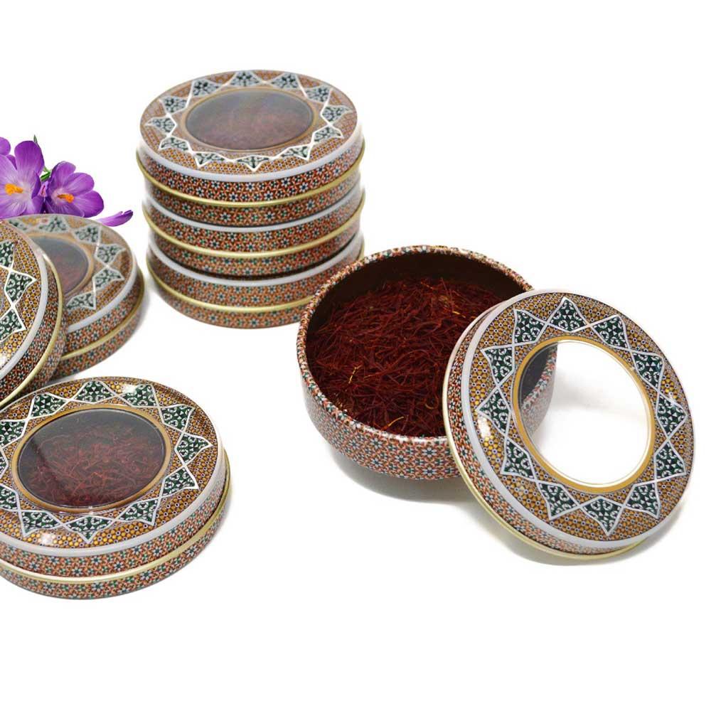 قیمت ظروف خاتم کاری زعفران